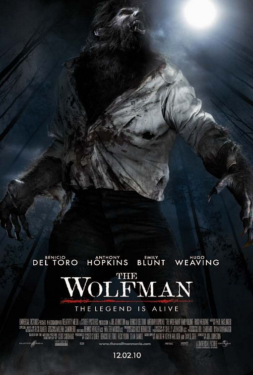 Werewolf Wolfman movie poster