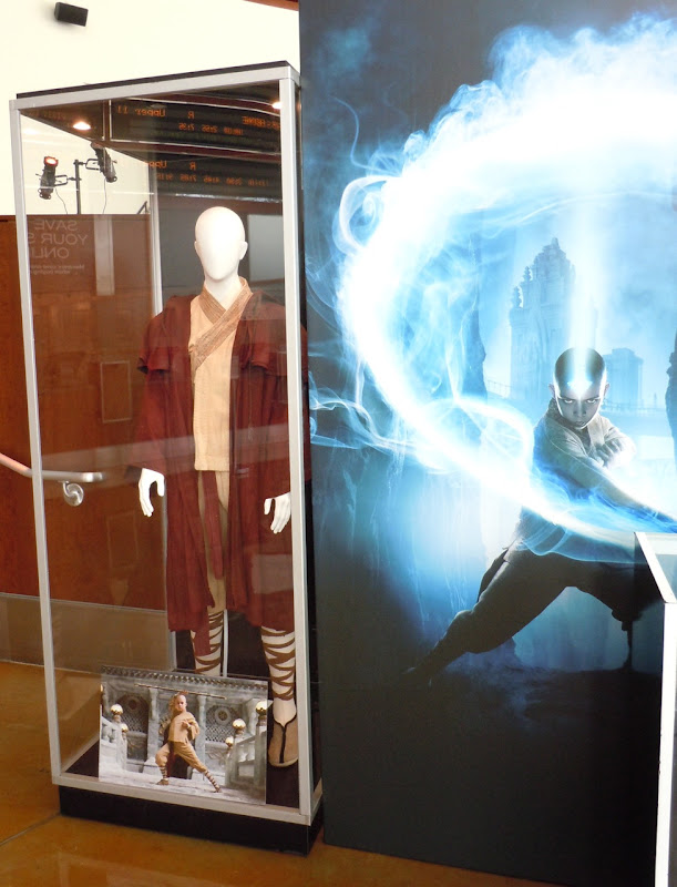Aang The Last Airbender costume display