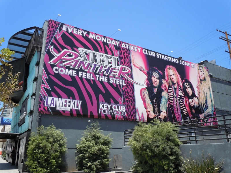 Steel Panther billboard