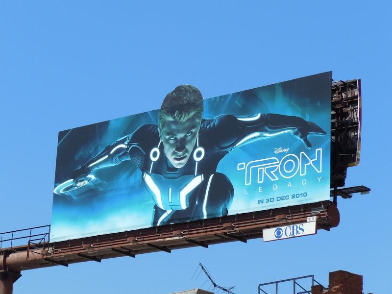 Tron Legacy billboard