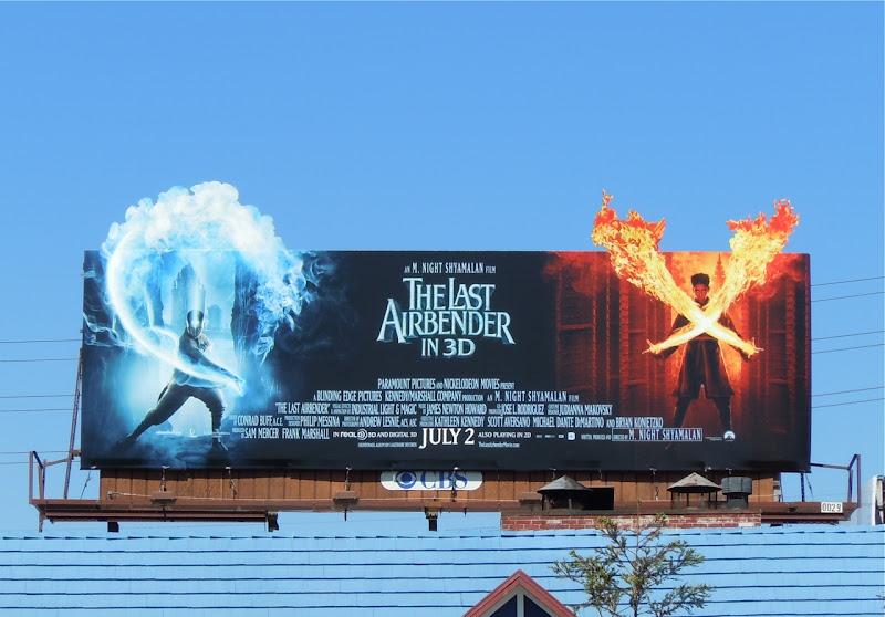 The Last Airbender movie billboard