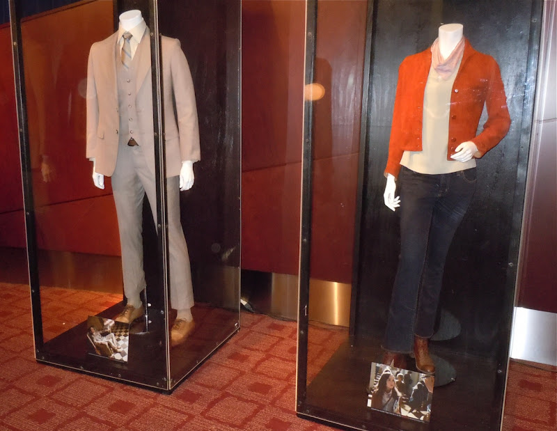 Arthur and Ariadne Inception costume display