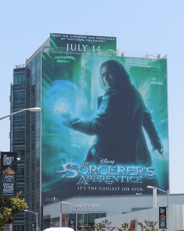The Sorcerer's Apprentice movie billboard