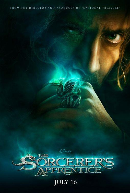 The Sorcerer's Apprentice teaser poster
