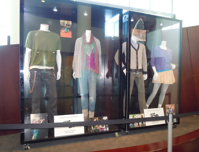 Step Up 3D movie costume display