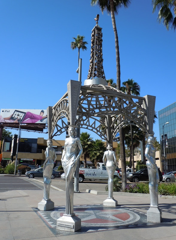 Hollywood Gateway Silver Ladies statuettes