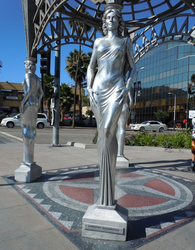 Dorothy Dandridge Silver Hollywood statue