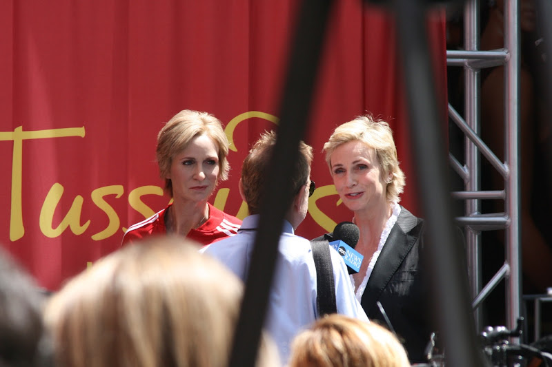 Jane Lynch Sue Sylvester Madame Tussauds