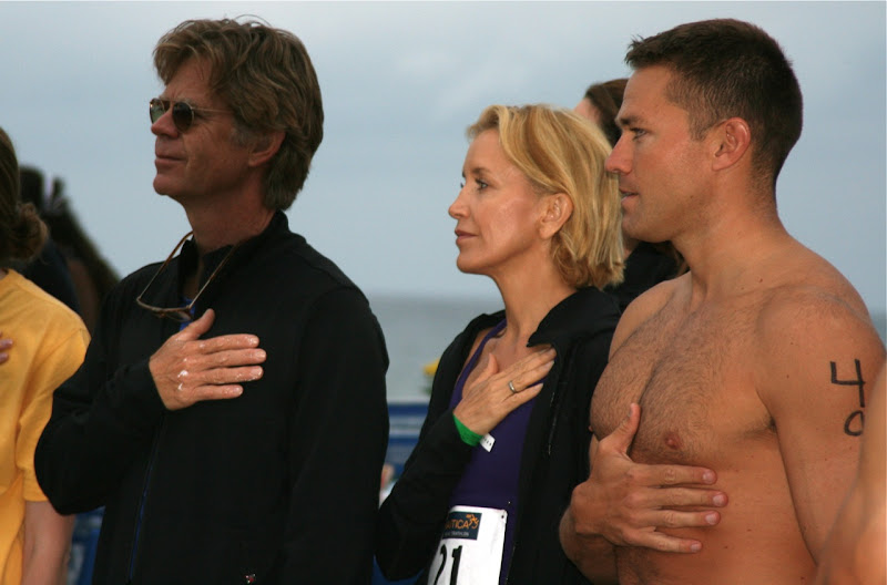Felicity Huffman and Andy Baldwin Malibu Triathlon 09