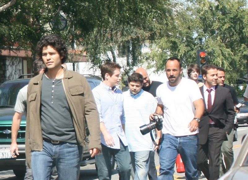 Adrien Grenier and Entourage cast