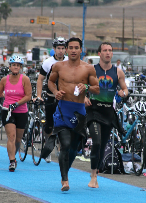 Mario Lopez Malibu Triathlon Sep 09
