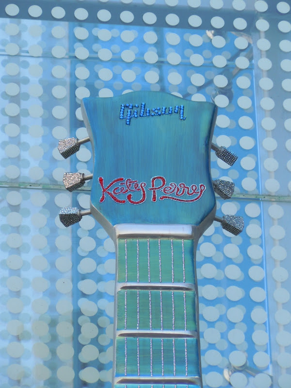 Katy Perry Guitar sculpture Sunset Strip