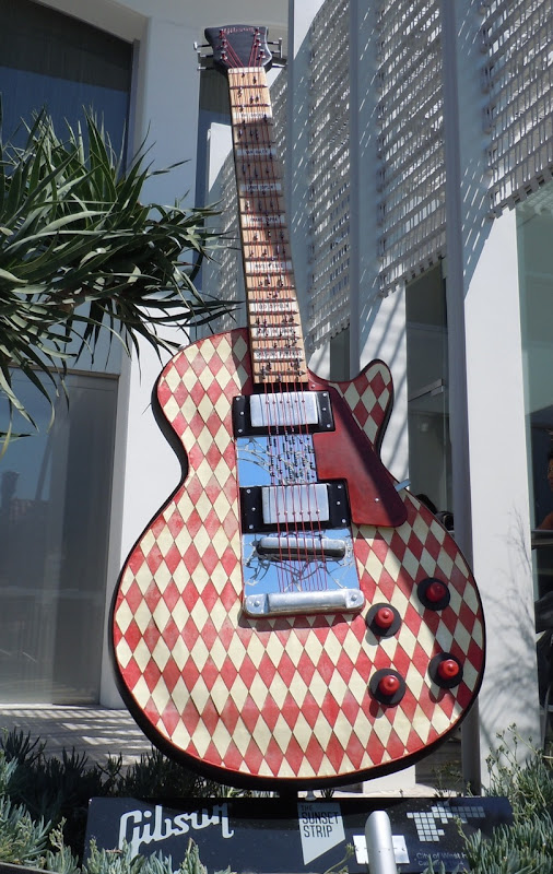 Star Struck Guitar Andaz Sunset Strip