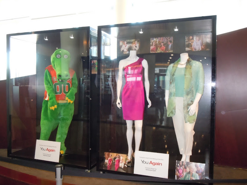 You Again movie costume exhibit