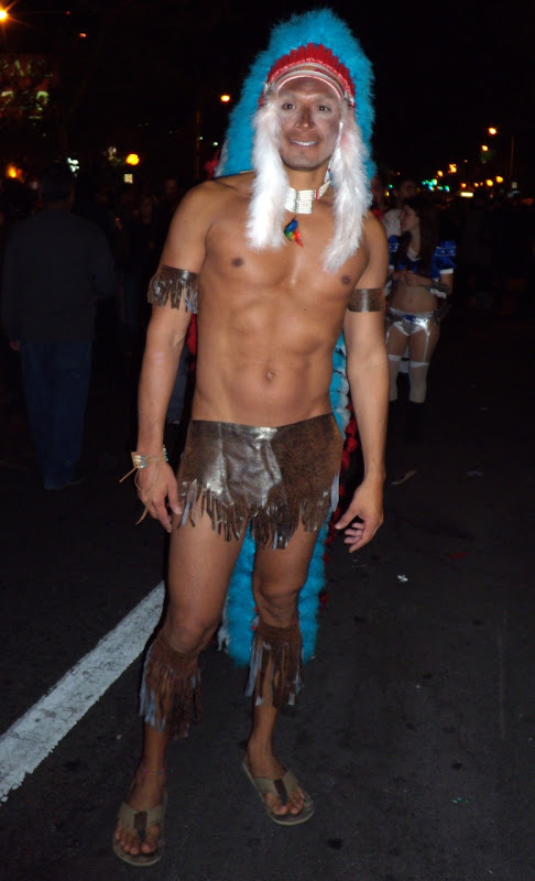 WEHO Halloween Chieftain costume