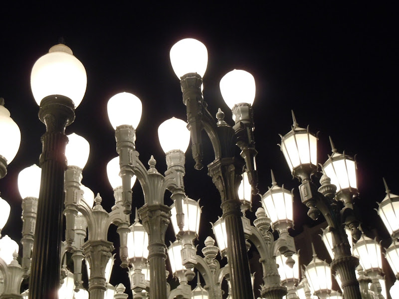 Urban Light art installation