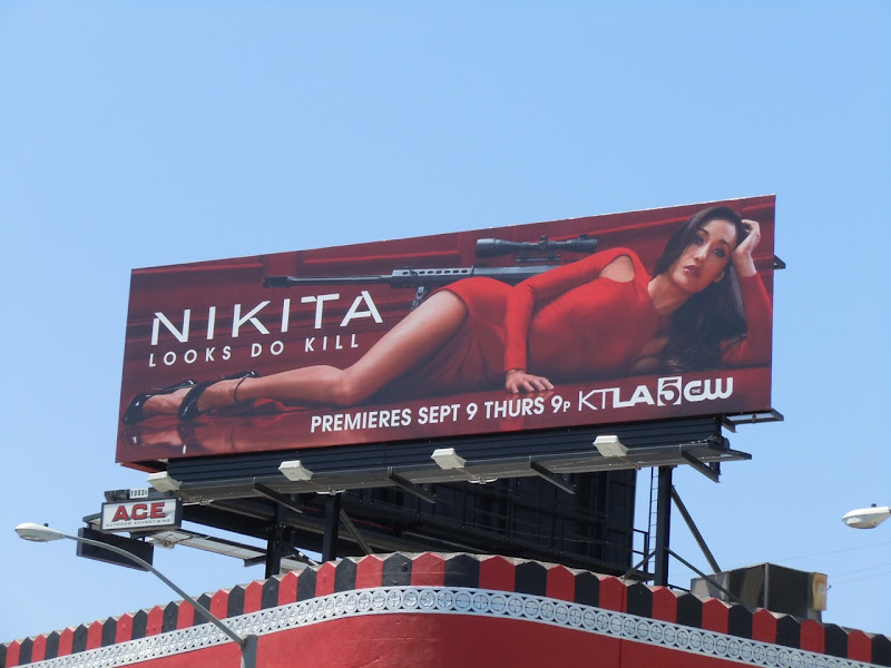 Nikita TV remake billboard