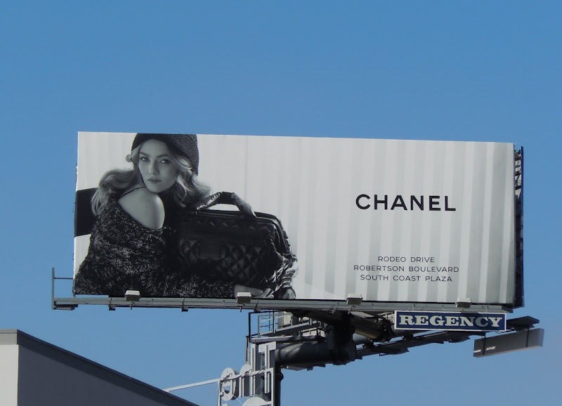 Chanel fashion billboard