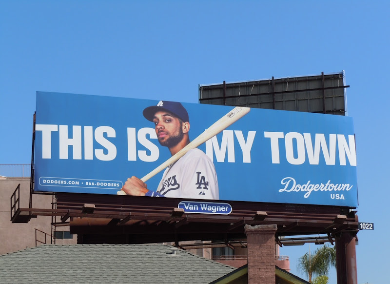 Dodgertwon baseball billboard