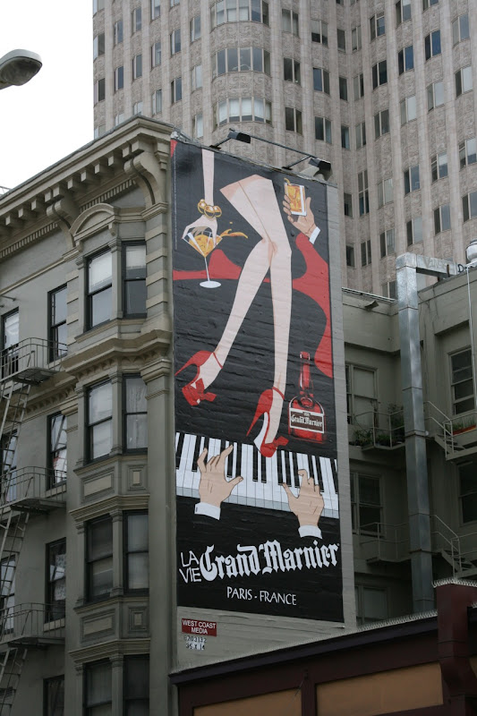 San Francisco retro Grand Marnier billboard