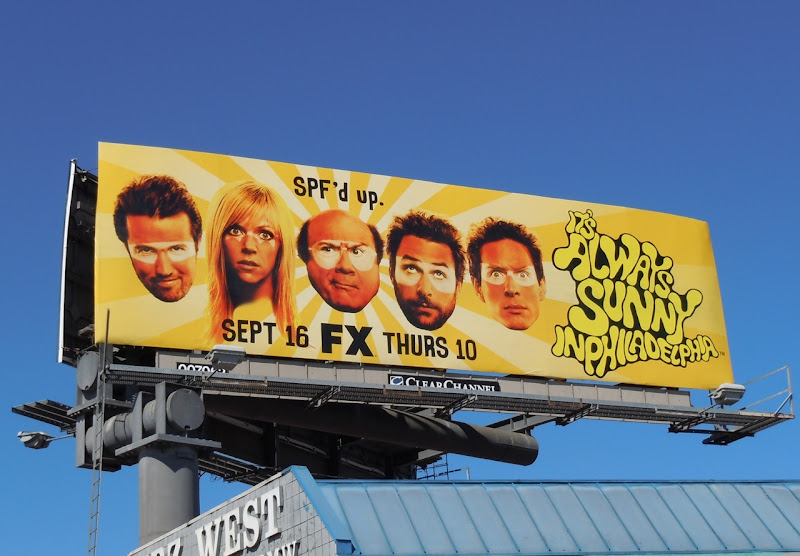 Its Always Sunny in Philadelphia TV billboard