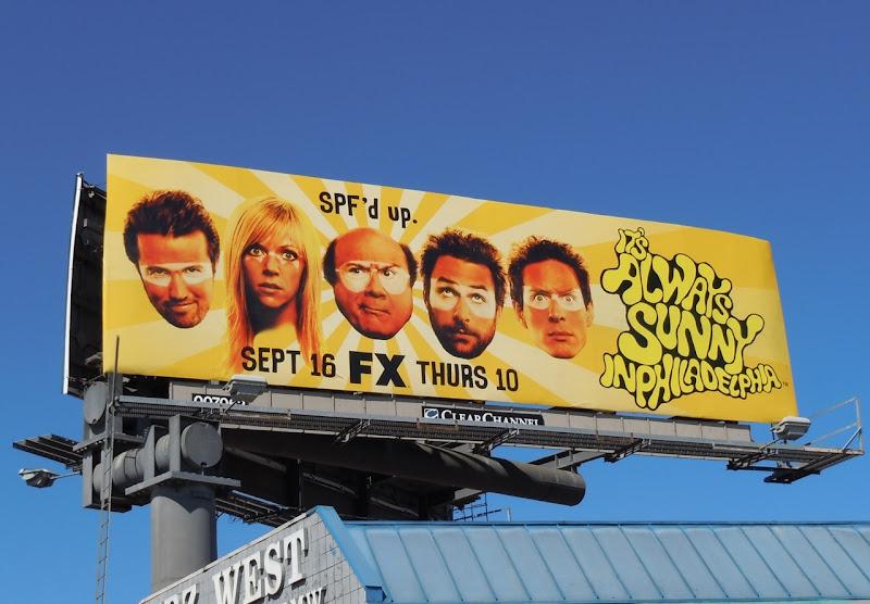 Its Always Sunny in Philadelphia TV billboard