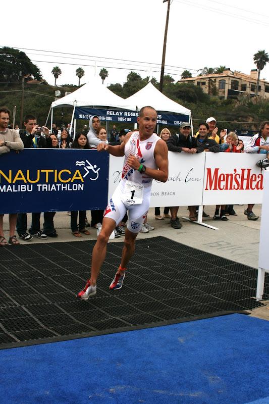 Chris Lieto wins Malibu Triathlon 2010