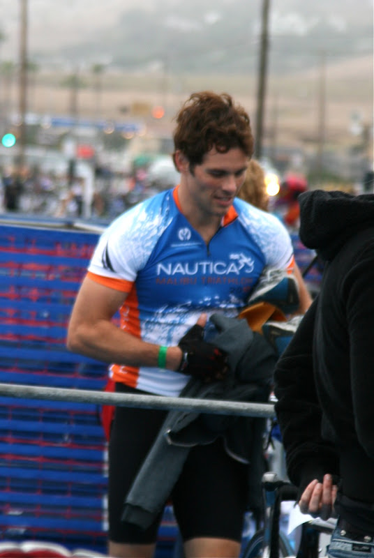 James Marsden Zuma Triathlon 2010