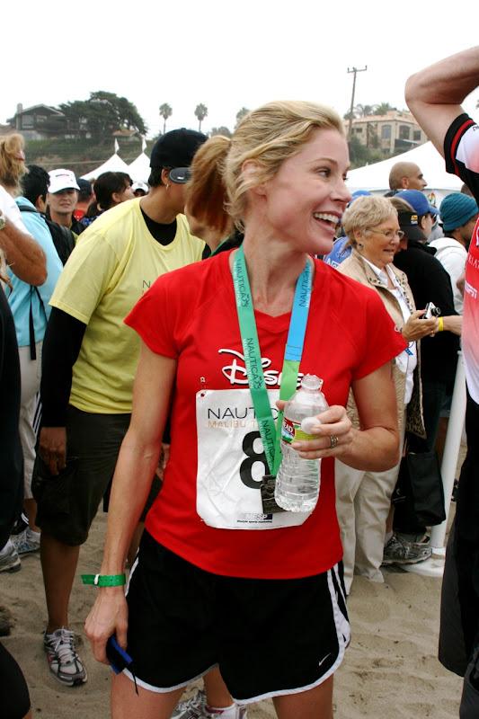 Julie Bowen Malibu Triathlon