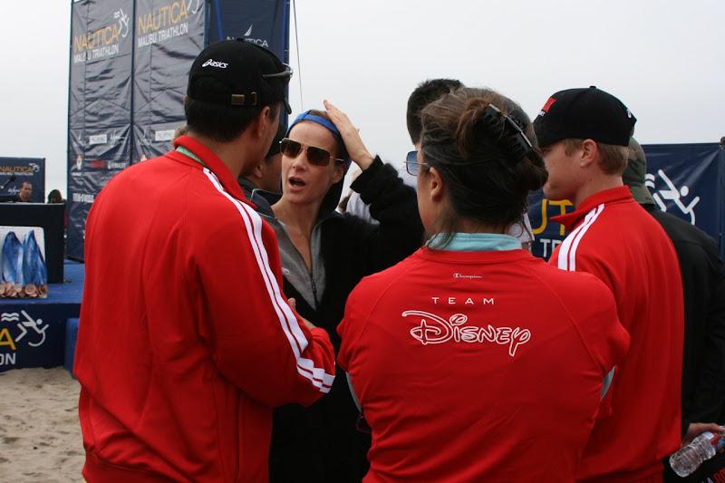 Rachel Griffiths Malibu Triathlon