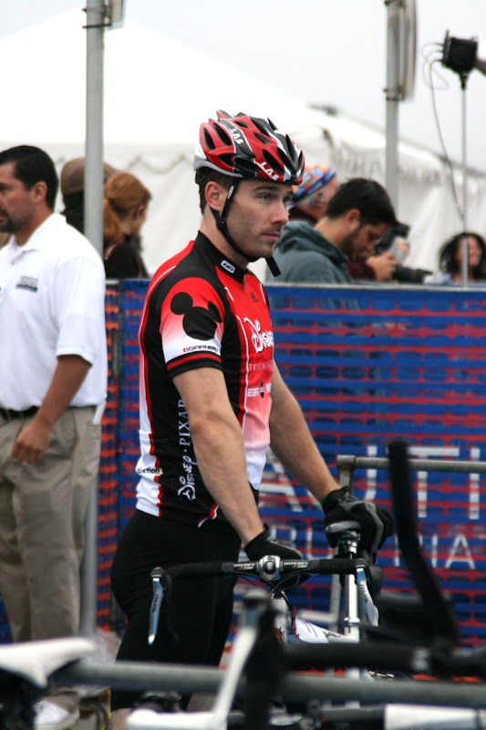 Luke Macfarlane Malibu Triathlon 2010