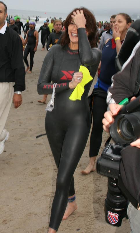 Teri Hatcher Malibu Triathlon 2010