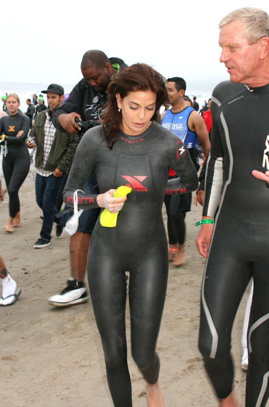 Teri Hatcher Malibu Triathlon 2010