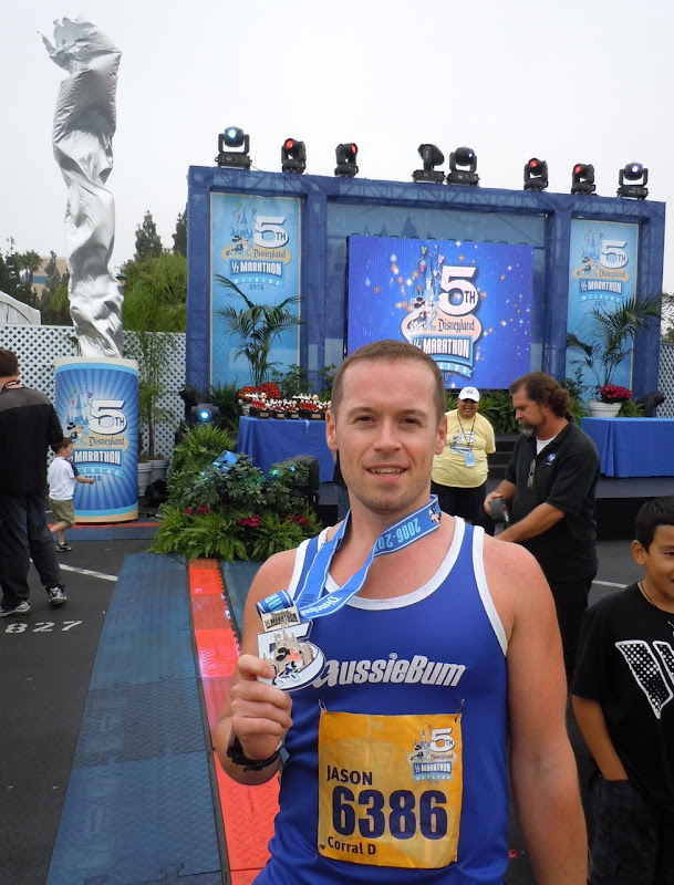 After Disneyland Half Marathon 2010
