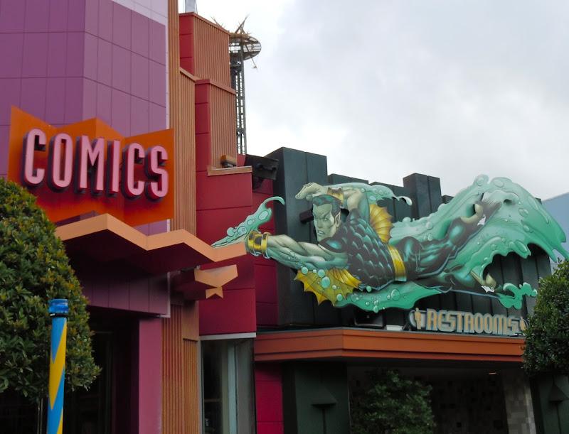 Namor Sub-mariner Universal Studios
