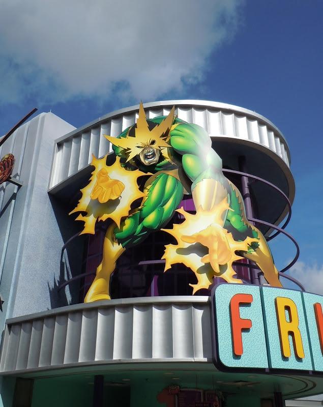 Electro at Universal Studios