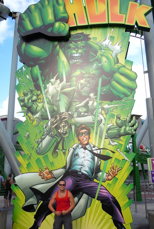 Jason in Hollywood Hulked