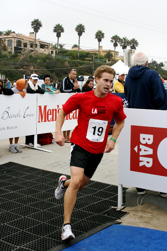 Randy Wayne runs Malibu Triathlon 2010