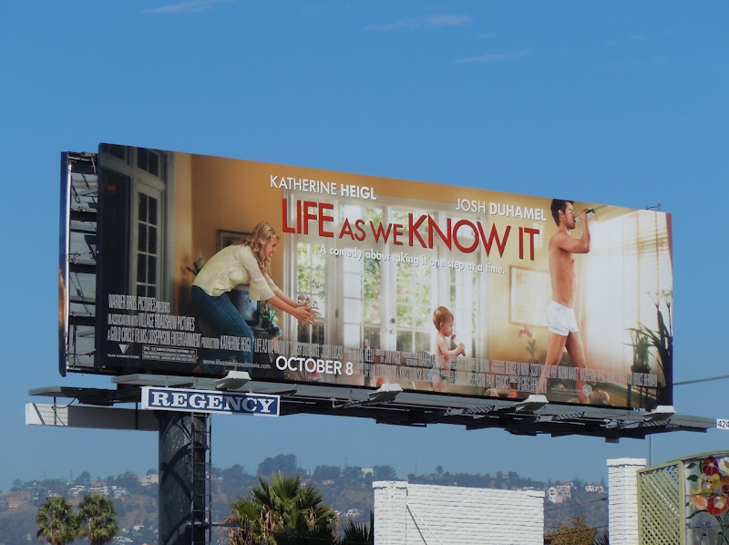 Life As We Know It movie billboard