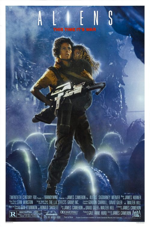 Aliens Ripley poster
