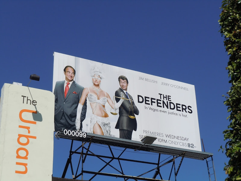 The Defenders TV  billboard