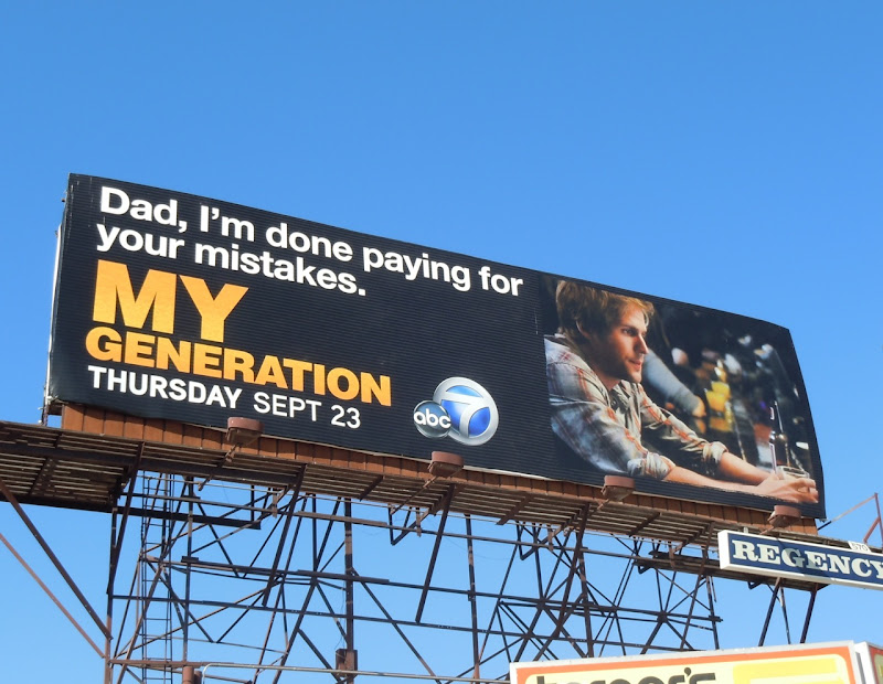 My Generation Dad mistakes billboard