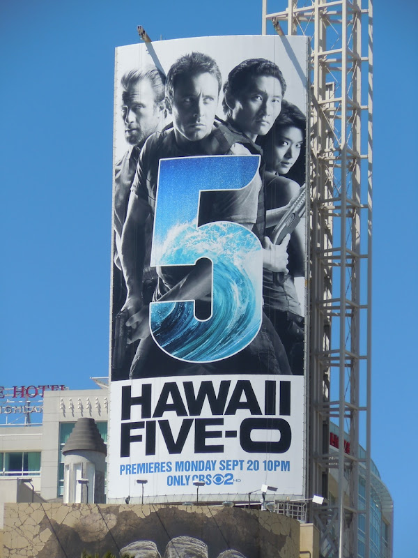 Hawaii Five-O TV billboard