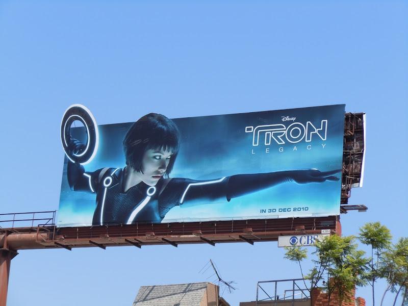Tron Legacy Olivia Wilde billboard