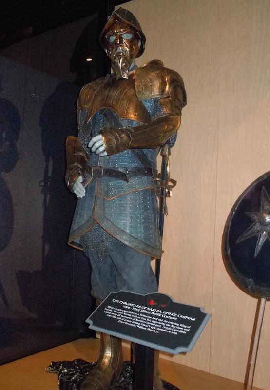 Prince Caspian King Miraz battle costume