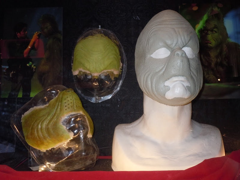 Jim Carrey Grinch prosthetics