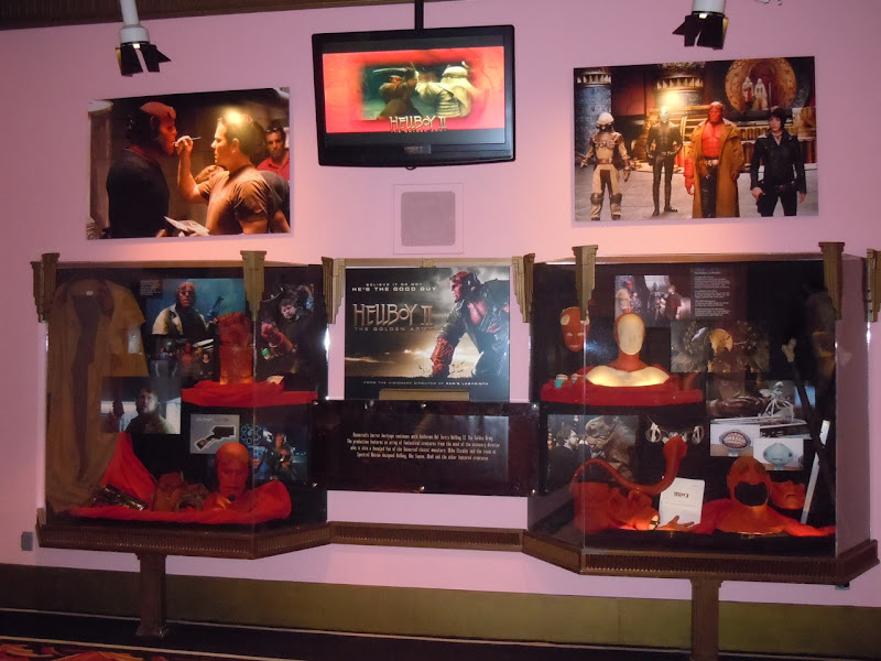 Hellboy 2 costume and props display