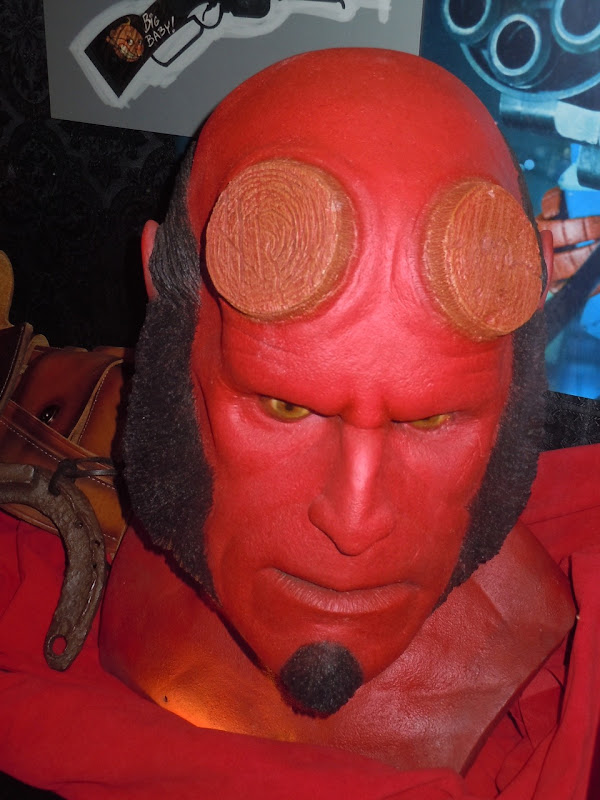 Hellboy Ron Perlman prosthetic head