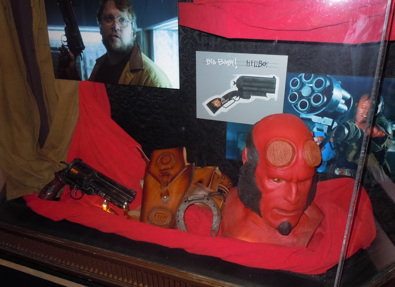 Hellboy 2 prosthetic mask display