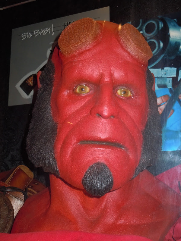 Hellboy prosthetic movie mask